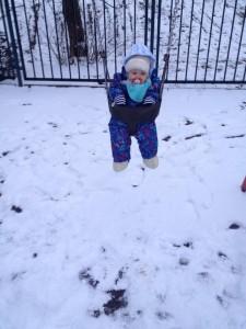 Mandula na sniegu